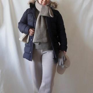 【寒い日コーデ】防寒するか、着やせを狙うか。アラフォー太め体型の結論は?