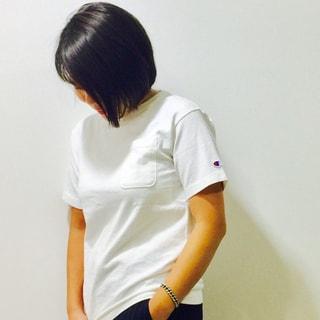 今年の気分にぴったりな「チャンピオン」のTシャツ by望月律子