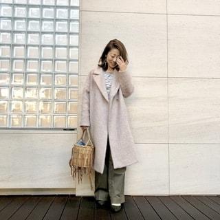 初トライ! ピンクにカーキを合わせてみました by鈴木亜矢子