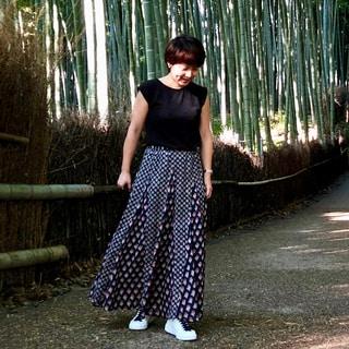 京都一泊二日は、着替えゼロで着まわす