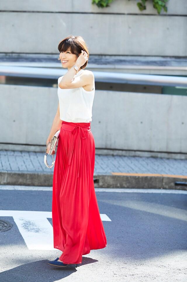 スカート コーデ ロング 大事なのは「合わせ方」!ロングスカート×靴の最適バランス【見本コーデ集】
