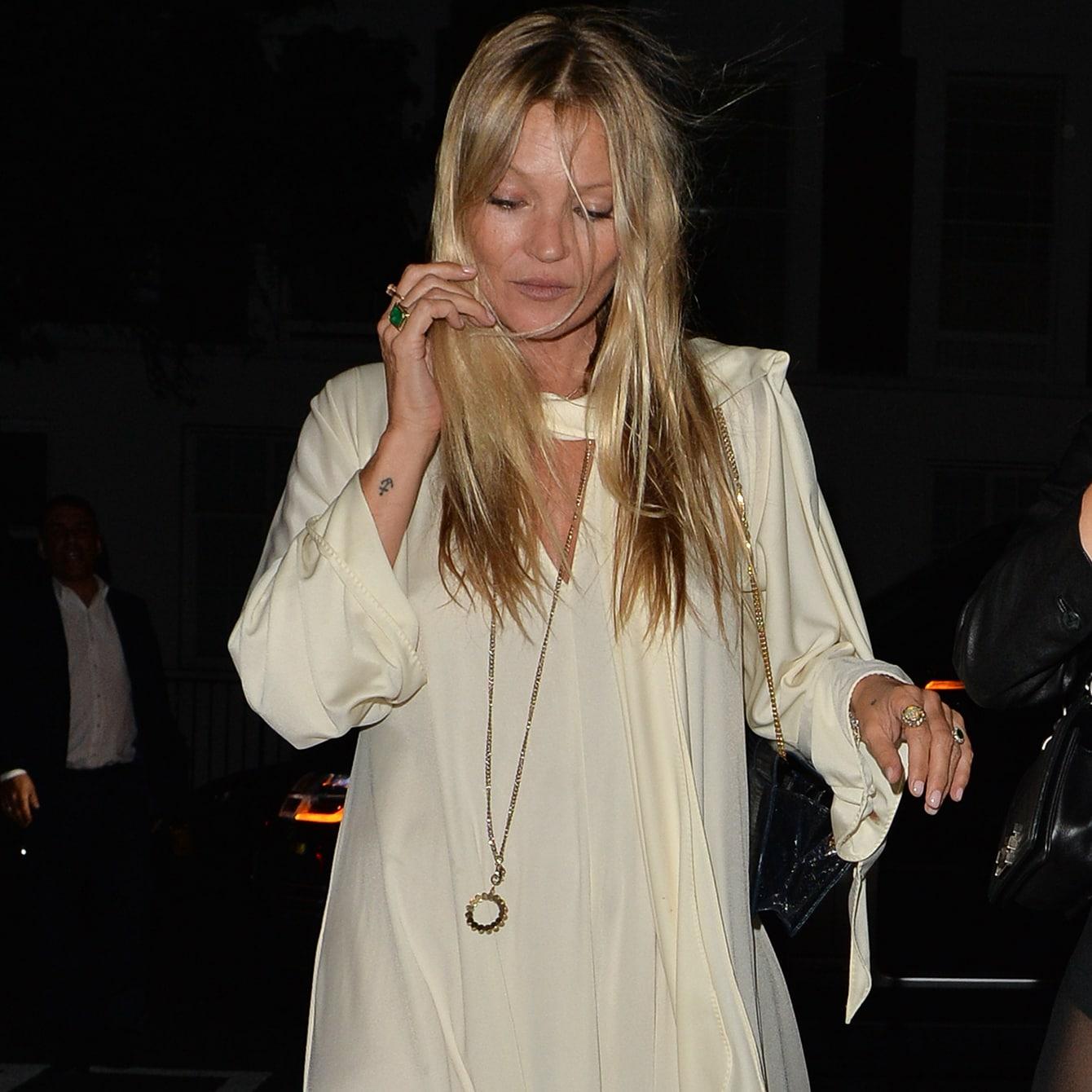 おしゃれ番長ケイト・モスがお手本にするファッション・アイコンとは?
