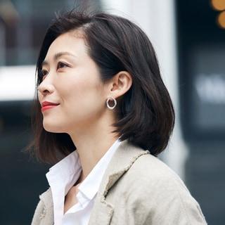 【40代髪型】かき上げも耳かけもドラマになる「美人ワンレンボブ」40選
