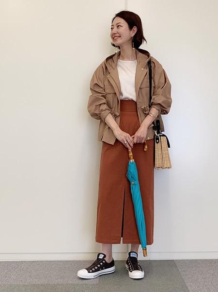 フェミニン代表・林 智子さんがセレクト!梅雨時季もご機嫌な「雨の日スタイル」スライダー1_1
