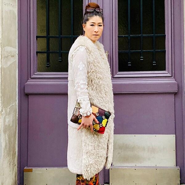 日本で人気の「冬のホワイトコーデ」を和製パリジェンヌがやってみた!