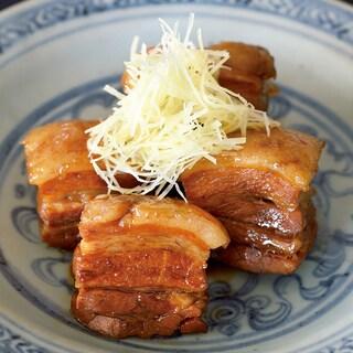 話題の料理教室のレシピ「豚の角煮」