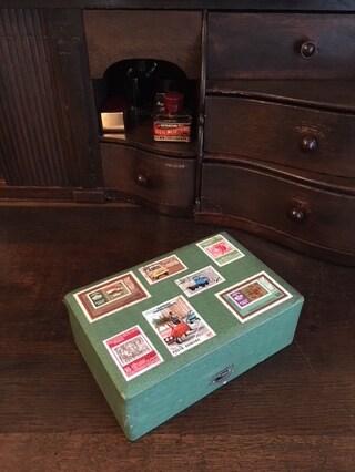 紙と箱が大好き、、すぐアレンジしたくなるんです。