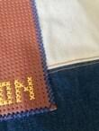 シンプルな男の子用入学グッズにもひと工夫ポイントは、ミシン糸。