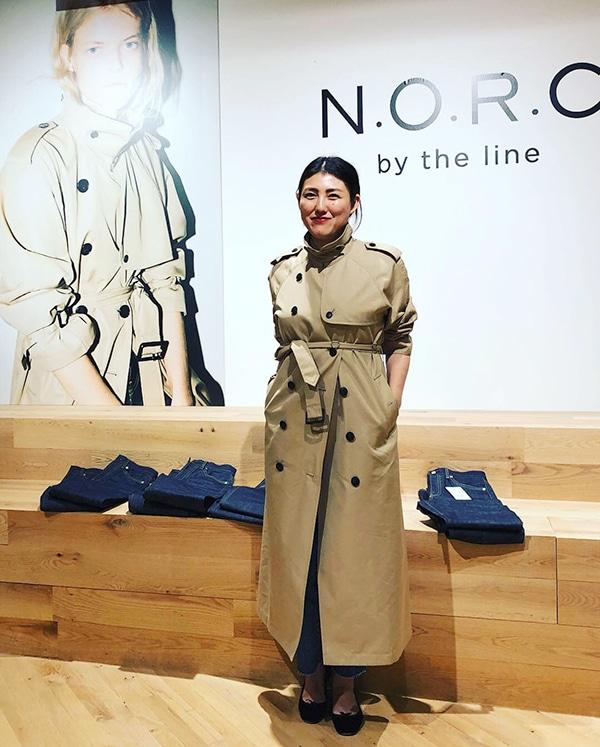私がディレクションする新ブランド「N.O.R.C by the line」がデビュー!スライダー1_1