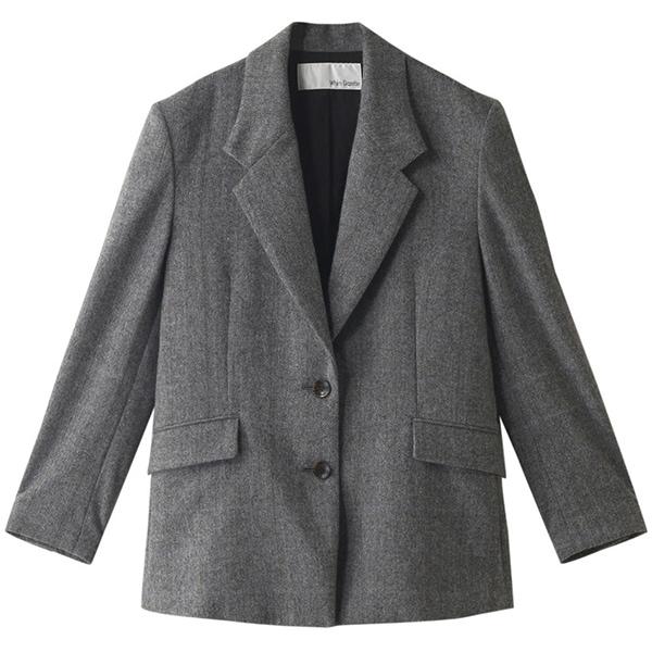 【季節の変わり目に】少し肌寒くなったら、ジャケットがコート代わり