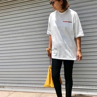 メゾン エウレカのTシャツはアウトして着るのに最適!