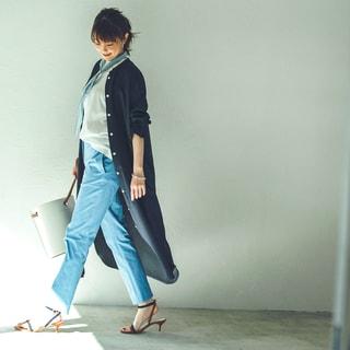 【小林麻耶の40代ベーシック】細身のスティックパンツが必要な理由