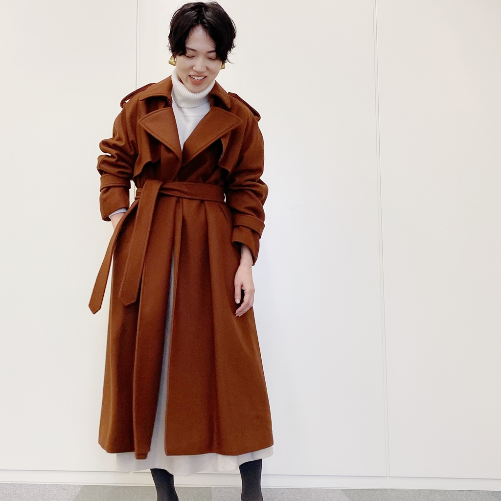 長く愛せるブラウンコート【シンプル代表・ライター昼田祥子さん】