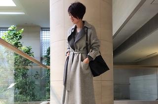 ファッションエディター昼田祥子さんがセレクト!今年のガウンコートはベルトをして着たい気分です