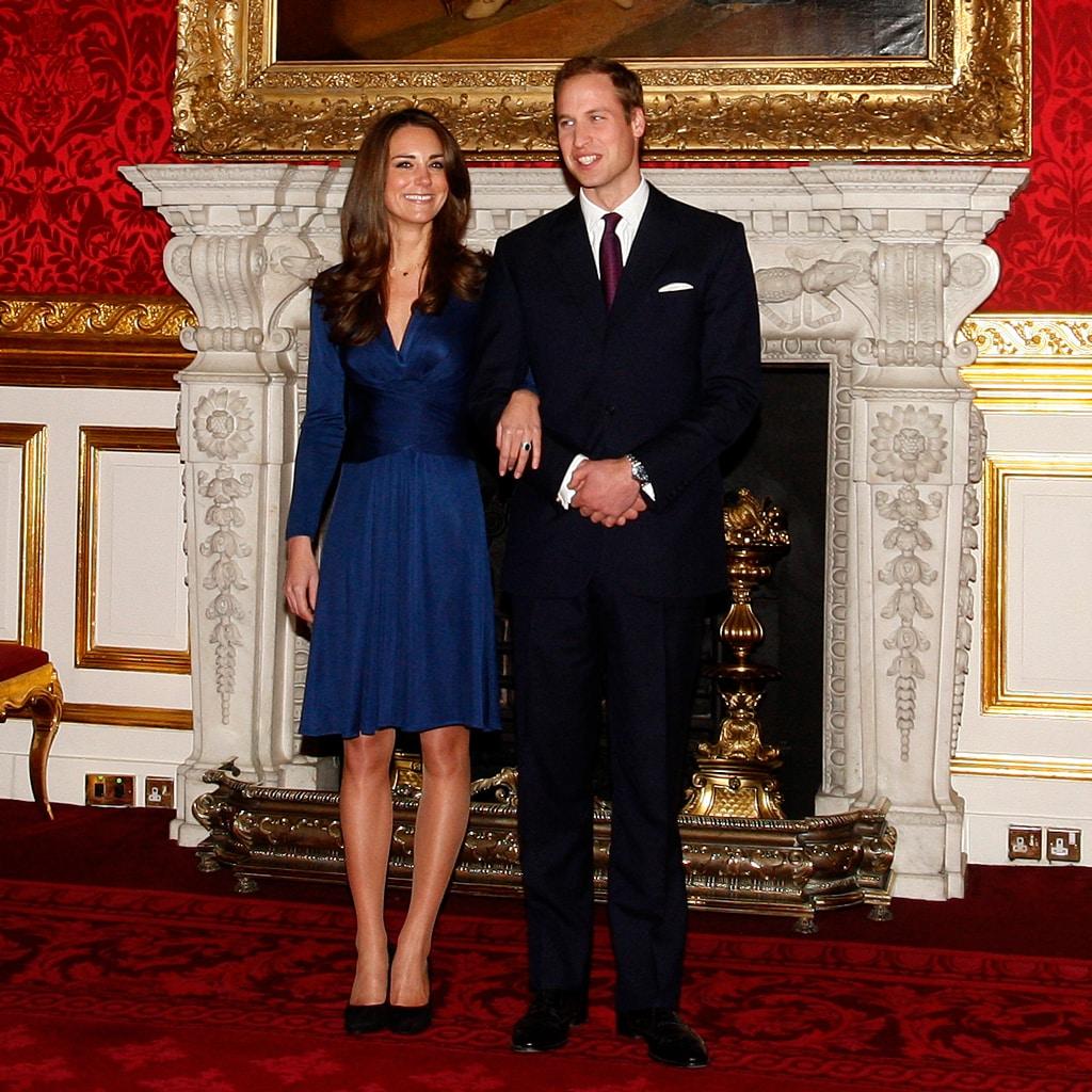 婚約10周年のキャサリン妃「会見では愛用のティファニーとダイアナ妃のリングを」