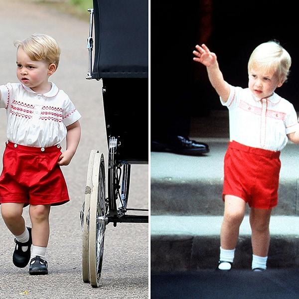 英国ジョージ王子7歳の「プリンスファッション」はダイアナ妃へのオマージュ
