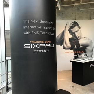 WELCOMEセカンドオピニオン!EMSトレーニング・ジム「SIXPAD STATION」へ