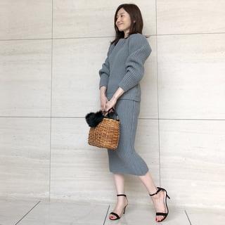 【動画あり】ミモレッタ山根亜希子さんがセレクト!春まで着られるニットはセットアップを指名