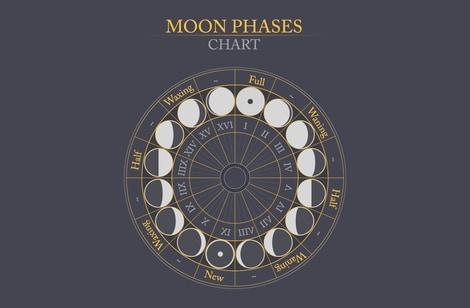 あなたの月星座がささやく満たされるべき「心の渇望」って?あなたの月(才能、素質、希望)はどこに向かっていく?