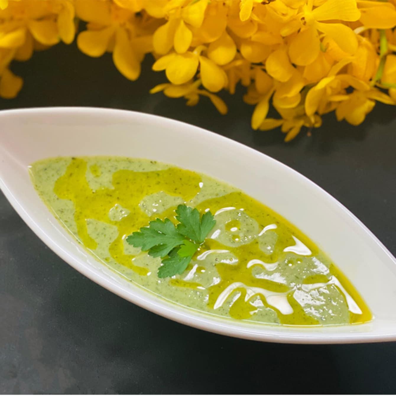 【美味しいヴィーガン料理】ブロッコリーとオリーブオイルのスープ
