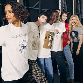 「マックスマーラ」70周年記念、限定Tシャツ7枚を全部見せ!