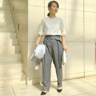【着比べ隊】オケージョンにもカジュアルにも着まわしたい! by片岡千晶