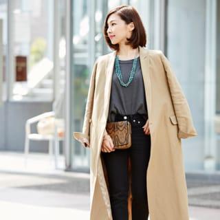 【40代コーデ】Sサイズ派の「パンツ選び」。スタイルアップのコツ48