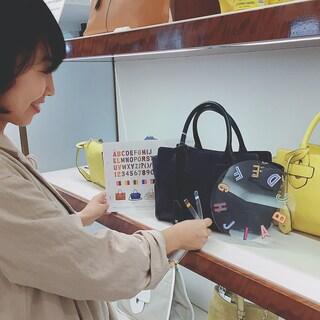 世界に一つだけのバッグをティラ マーチで!by福田麻琴