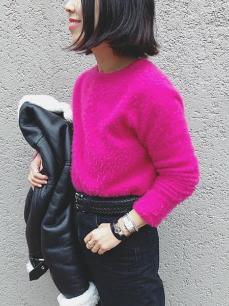 """ピンクへの苦手意識を克服。""""らしいね""""とさえ言わせた色はこれスライダー1_4"""