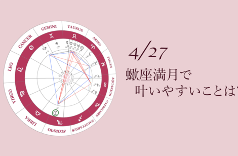 2021.4.27蠍座満月について