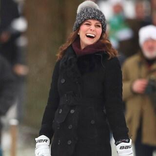 アウトドア好きキャサリン妃「冬の偏愛アイテムはニット帽」