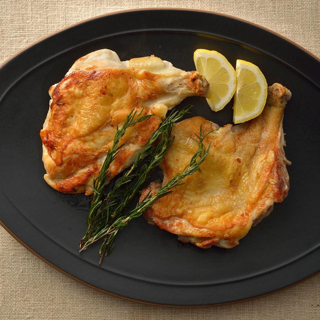 落合務シェフが「肉が美味しくなる焼き方」を伝授!鶏肉のグリルのレシピ