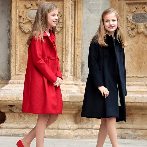 「わぁ、素敵!」スペイン王女姉妹のリンクコーデにときめきが止まらない!