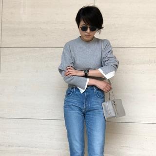 【動画あり】ファッションエディター昼田祥子がセレクト!大好きなグレーのニットを更新したい!