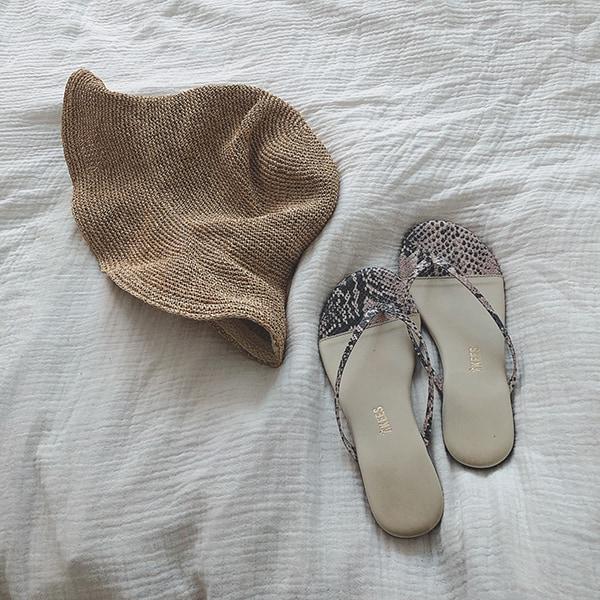 朝の時短!夏の靴&バッグ作り置きセット2パターンスライダー1_5