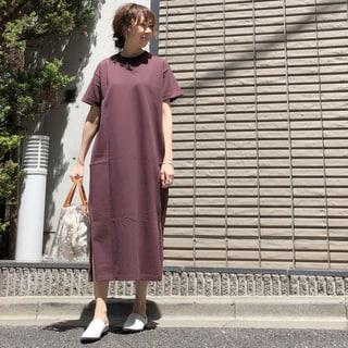 【動画あり】ライター榎本洋子がセレクト!リラックス気分満点のTワンピは素材を吟味