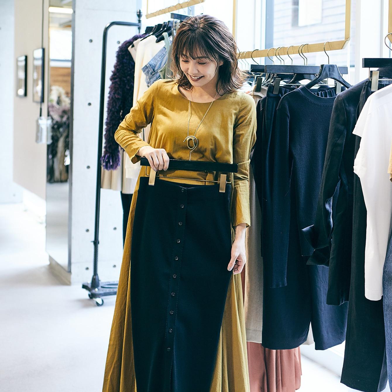 【小林麻耶さんの似合う服探し】マニッシュなジャケットやパンツを着てみたい