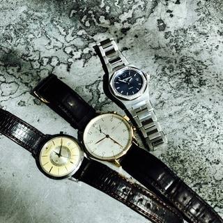 腕時計のおしゃれで、タイミングのいい人になる!