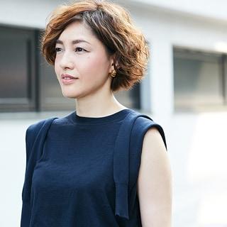 【40代髪型】髪が細く少ない人も華やかに!「パーマボブ」10選
