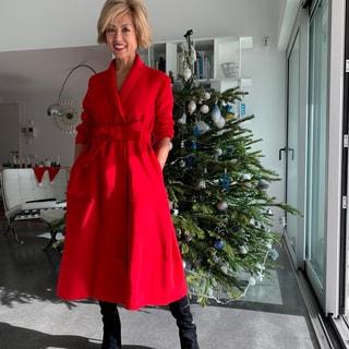 私が赤いワンピースを着るとき「お気に入りの4着」