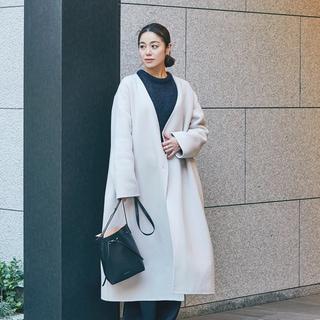 【スナップ】普段は着ないピンクを取り入れて冬の着こなしを活性化