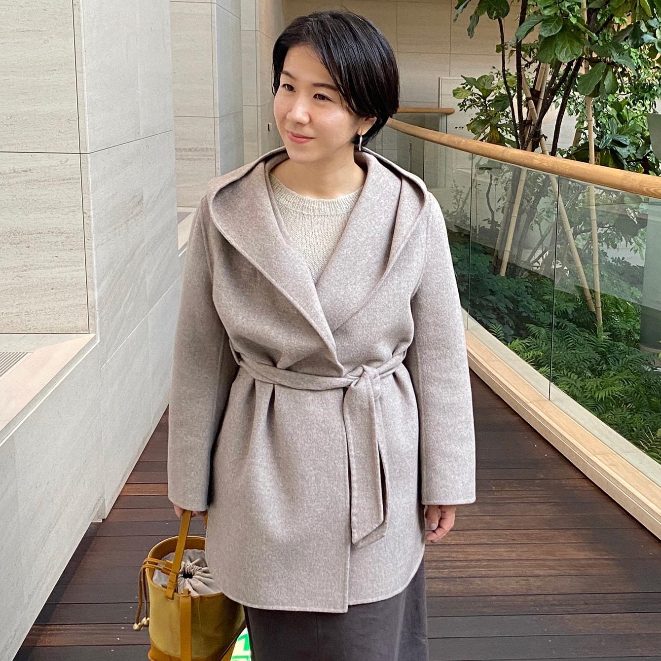 今年トレンドのショート丈コート。実際に着てみたら…?