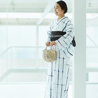洋服感覚で楽しむ浴衣のスタイリングアイデア【福田麻琴】
