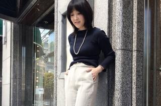麻の素材が気になります by室井由美子