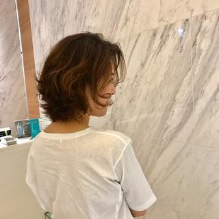 大阪梅田のホワイトハウスで、パーマをかけました笑笑♡