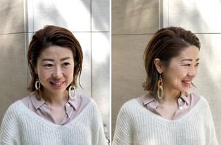 20年以上(!)ぶりに、髪を巻かずに家を出ました by鈴木亜矢子