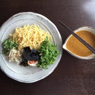 【番外編】パクチーたっぷり味噌つけ麺