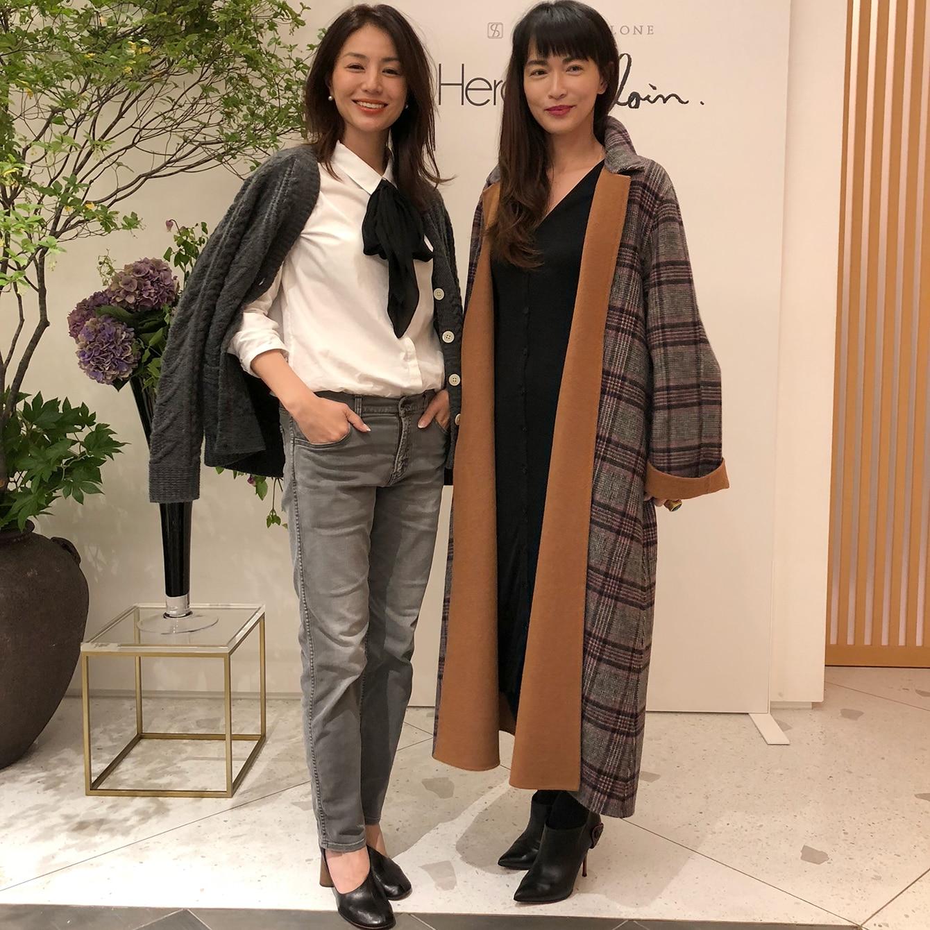 長谷川京子さん、板谷由夏さんも!井川遥さんのブランド展示会レポート