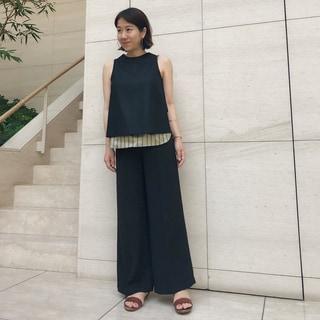 デイリー以上お出かけ未満な<Pelleq>の服 by朏亜希子
