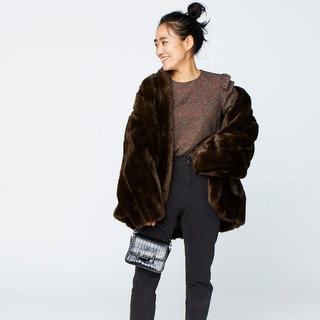 暖かくて着痩せもかなう真冬のコートスタイル【人気スタイリスト金子綾さん】